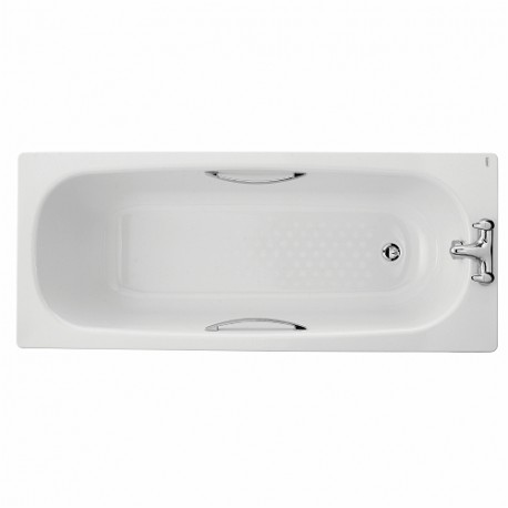 TWYFORD CELTIC BATH, 1600X700,2 TAP, SLIP RESIST,