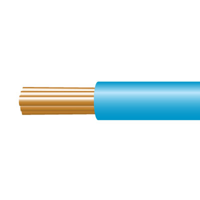 6491X SINGLE CABLE 1.5MM BLUE 100M