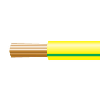 6491X SINGLE CABLE 10MM GREEN/ YELLOW 100M
