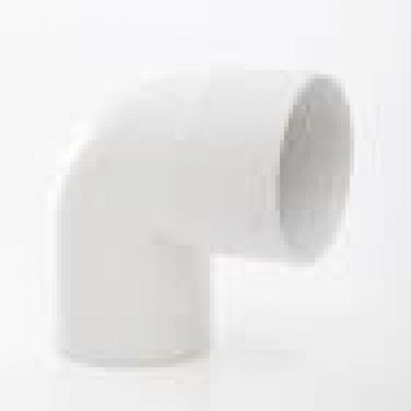 POLYPIPE 50MM X 90DG ABS SWIVEL BEND WHITE