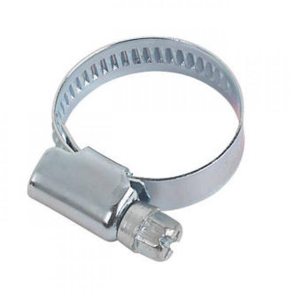 ZINC-PLATED HOSE CLIPS 16-25MM 10 PACK