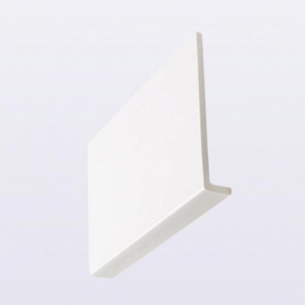 SQUARE FASCIA CAPPING  BOARD WHITE 9MM X250MMX5M