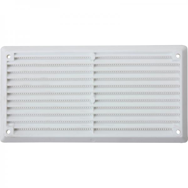 VENT FIXED LOUVRE VENT WHITE 229 X 76MM