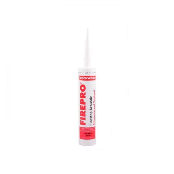 ROCKWOOL ACOUSTIC INTUMESCENT SEALANT 310ML CARTRIDGE